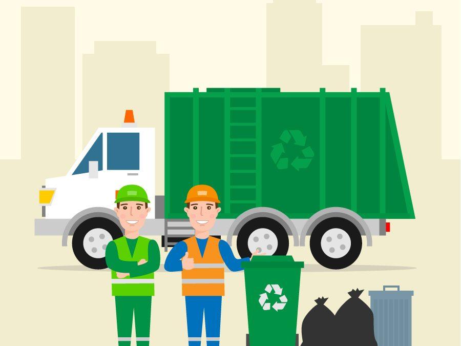 14 juillet – Décalage collecte déchets