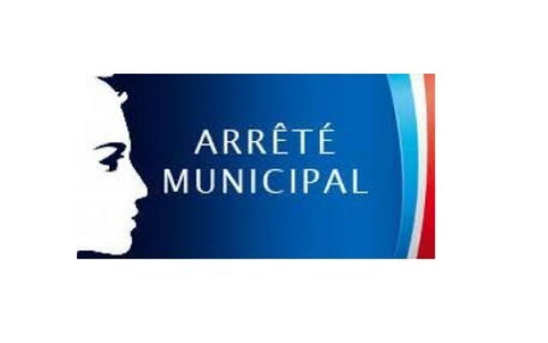 Arrête communal portant obligation du masque aux abords du groupe scolaire maternelle et élémentaire et du collège de la commune