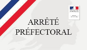 Arrêté prefectoraux du 26 Septembre pour le département de l'Eure