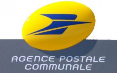 Fermeture annuelle de l'agence postale