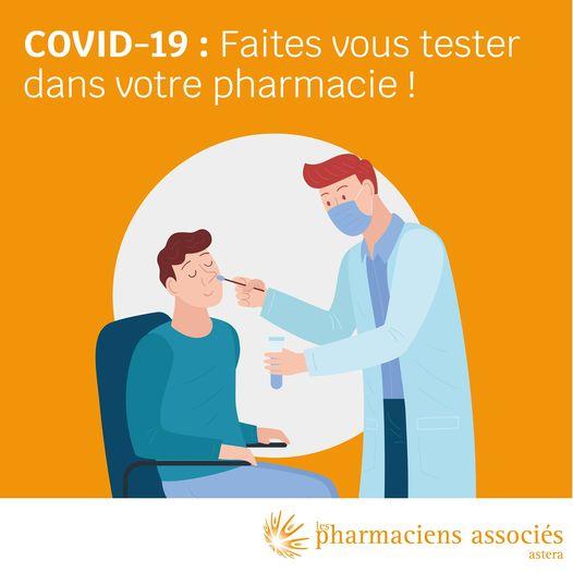 Pharmacie Theriaque – Tests antigéniques