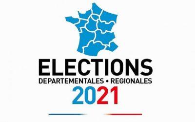 Résultats élections régionales et départementales 2021 à Bueil