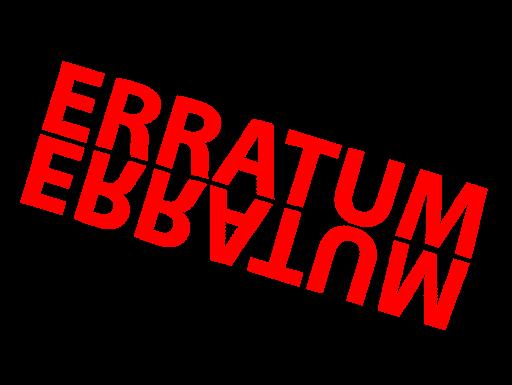 Erratum – Friperie Solidaire