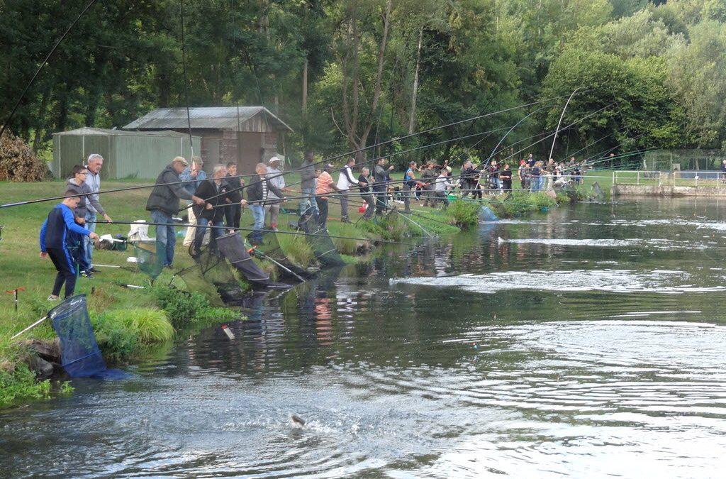 Concours de pêche aux blancs