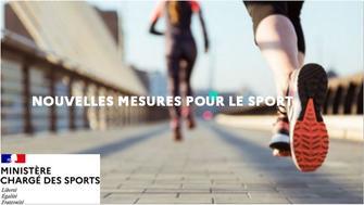 Nouvelles mesures pour le sport